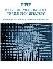 Building Your Career Transition Strategy, A Framework for Managing