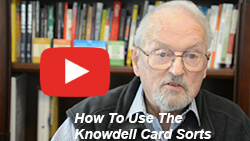 Video thumbnail-  of Dick Knowdell - How to use all 4 card sorts.