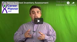 Thumbnail for video on The Strong Interest Inventory - video by Mike Shur