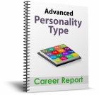 cover of Advanced Personality Type Career Report