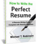 resume templates and how to write the perfect resume ebook cover photo